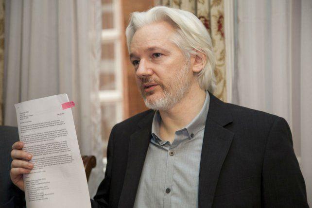 El ciberactivista se encuentra refugiado en la embajada de Ecuador para no ser extraditado a Suecia.
