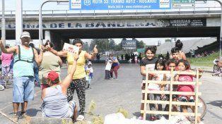 Rosario, con cortes de tránsito y sin recolección de residuos por la protesta de la CGT