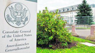 Secreto. La CIA utilizaría el consulado en Frankfurt como base encubierta de sus operaciones en Europa y Africa.