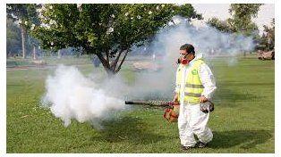 Tareas de fumigación