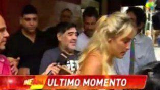 Maradona chicaneó a Dady Brieva: A ese sólo lo conocen en Santa Fe y Buenos Aires