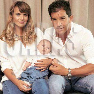 amalia granata y leonardo squarzon presentaron juntos a su hijo roque