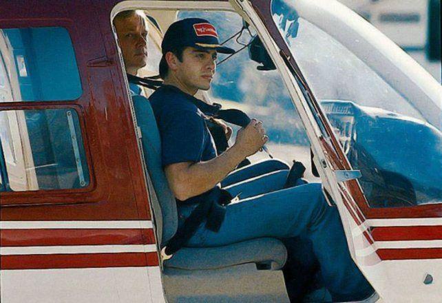 Carlos Menem Jr murió en un accidente de helicóptero el 15 de marzo de 1995 en cercanías de Ramallo