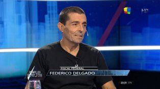 Fiscal federal Federico Delgado.