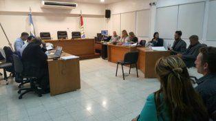 Esperado Inicio. La primera audiencia del juicio oral y público por el crimen de Any Rivero en los Tribunales de San Lorenzo duró más de seis horas.