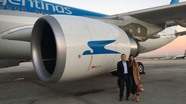 Encontraron 64 mil pastillas de éxtasis en el avión que trajo a Macri desde España