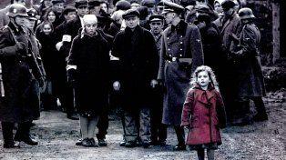 Una de las escena del film La lista de Schindler.
