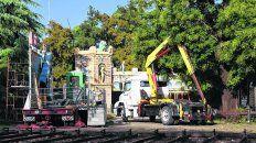 Desmantelado. Tras la muerte de dos nenas al desprenderse una góndola de la Vuelta al Mundo en 2013, el parque fue desactivado.