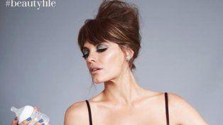Emilia Attias protagonizó una portada junto a su beba desnuda y estalló la polémica