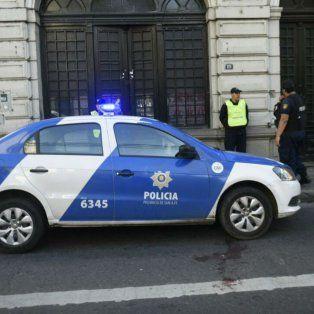 Custodia policial frente al after Child tras la feroz balacera de esta mañana.