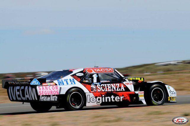 Al tope. Ortelli volvió a lo más alto luego del estreno pálido en Viedma y metió al Chevrolet primero.