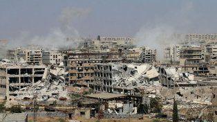 Vista general de la ciudad de Alepo