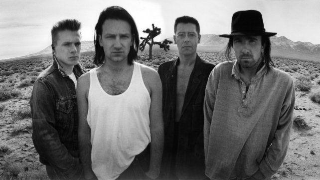 El grupo en 1987