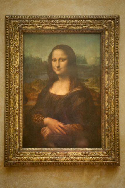 Icónica. El célebre lienzo que Leonardo pintó entre 1503 y 1519.