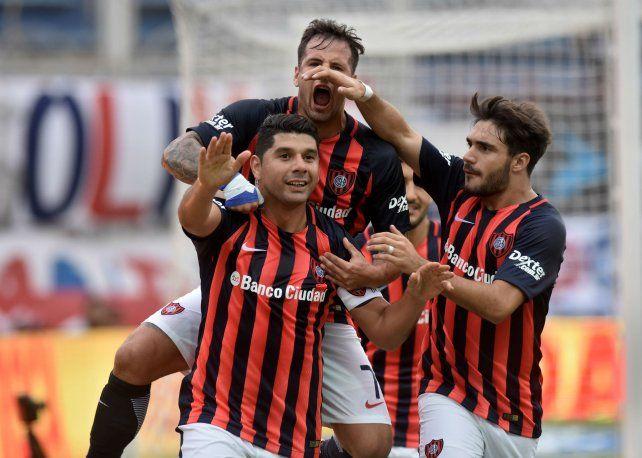 Efectivo. Ortigoza no falló de penal para darle aire al equipo. San Lorenzo sigue arriba.