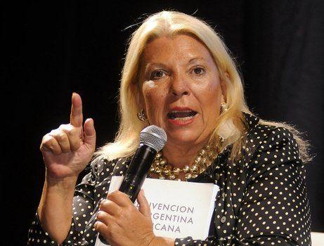 Elisa Carrió volvió a cargar contra el presidente de la Corte Suprema