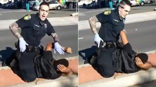 Brutal represión policial causó indignación en California