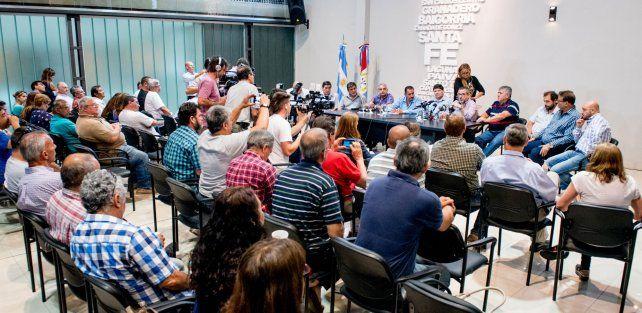 Ratner: Los intendentes no nos dejan otra alternativa que la medida de fuerza