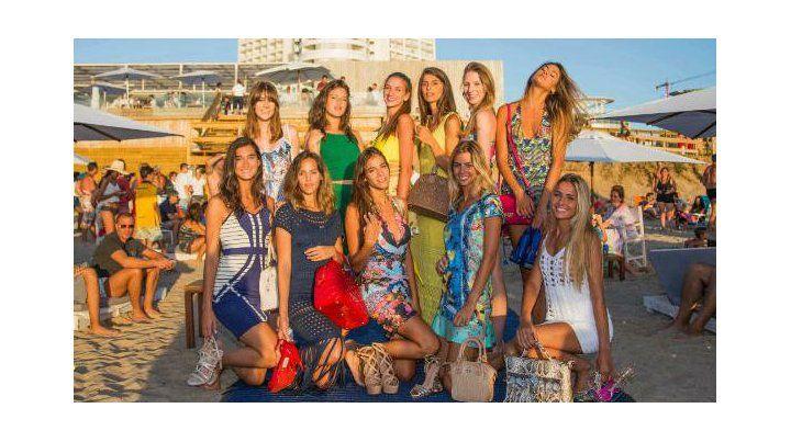 Una modelo que vive y estudia en Rosario es la embajadora del Enjoy Conrad de Punta del Este