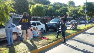 frente a los pescadores. Coto Medrano fue capturado ayer junto a cuatro personas en Carrasco al 2700.