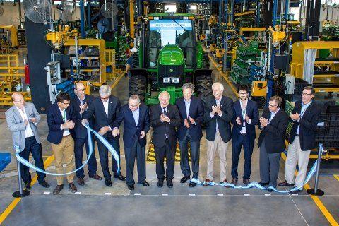 Industrialización. John Deere puso en marcha una nueva línea.