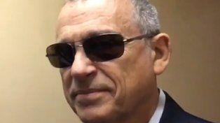 cambio de look. Stiuso declaró ayer frente al juez Bonadio.