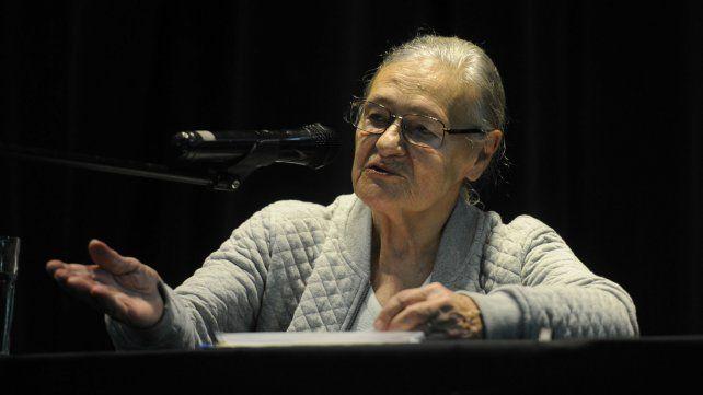La especialista Emilia Ferreiro.