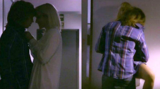 Brenda Gandini se vengó de Gonzalo Heredia con escenas íntimas en la ficción