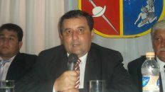 Natividad Roger Teran, cuando todavía ejercía como intendente de Itatí.