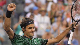 La máquina suiza. Roger Federer lleva tres victorias consecutivas sobre el mallorquín.
