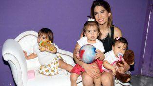 Tras las amenazas, Cinthia Fernández y sus tres hijas se van a vivir a Ecuador