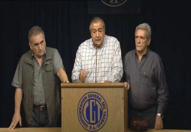 La CGT confirmó que el 6 de abril hará el primer paro general del gobierno de Macri