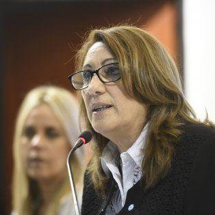 La intendenta Fein, en la apertura de sesiones del Concejo municipal hace unos días.