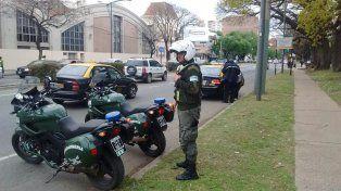 Personal de Gendarmería realiza diariamente, junto con personal de la GUM y Control Urbano, operativos de vehículos.