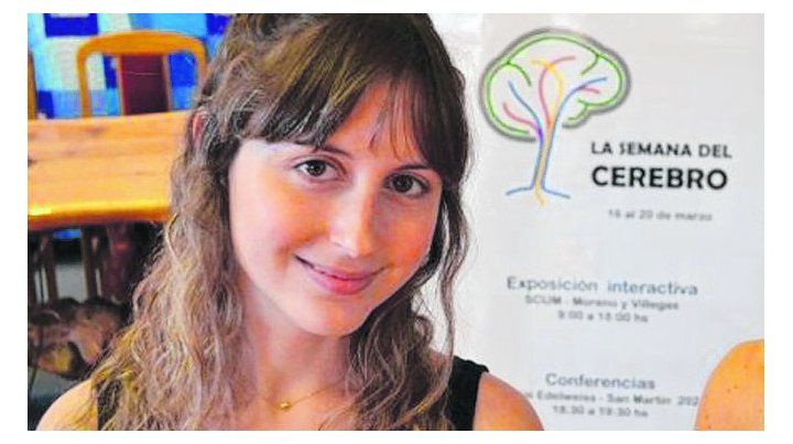 Logro. Soledad tiene 31 años y trabajará en el Instituto Kavli.