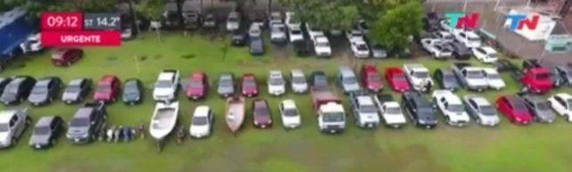la flota de los narcos de itatí. La Justicia Federal incautó 54 vechículos: 26 autos