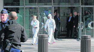 Ataque. Las oficinas del FMI donde fue enviada la misiva explosiva.