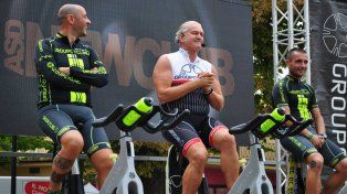 El Master Cycling Alfredo Venturi estará mañana en Rosario.