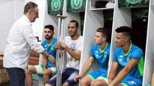 El presidente del Chapecoense reveló cuál fue el único club europeo que los ayudó