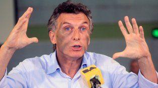 El presidente Macri se mostró muy duro con el reclamo de los docentes de todo el país