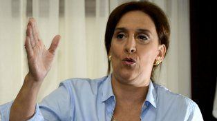 La vicepresidenta Gabriela Michetti habló en nombre del gobierno nacional.