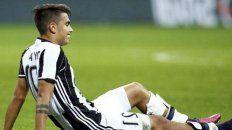 Susto y preocupación. Aunque el técnico de Juventus dijo que la lesión no parece importante, en la selección se encendieron las alaramas.