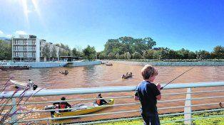 imágenes del futuro. La desembocadura del arroyo Saladillo será el escenario natural de una profunda transformación para toda la zona sur.