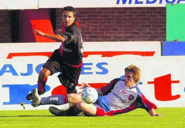 El debut. Nacho tuvo su estreno en primera el 4 de abril de 2004 ante San Lorenzo.