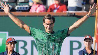 Federer celebra cada nuevo título como si se tratase del primero.