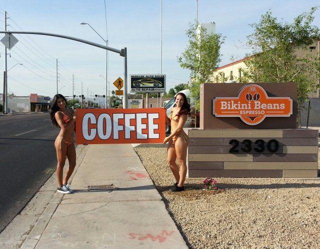 El café más caliente de Estados Unidos se toma en Whasginton con mozas en ropa interior