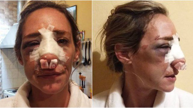Paola Mascambruni relató lo que le sucedió en la red social Facebook.
