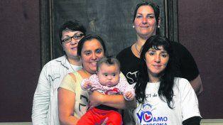 luchadoras. El grupo de madres Locas de Amor será reconocido.
