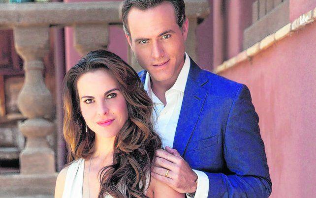 Eric Hayser y Kate del Castillo interpretan al presidente Diego Nava y a la primera dama