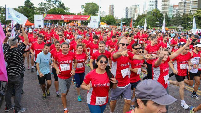 Llega el cuarto maratón Unicef a Rosario.